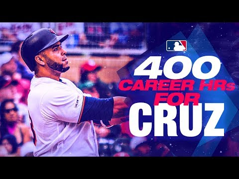 Twins' Nelson Cruz hits 400th home run