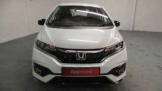 Honda JAZZ 1.5 i-VTEC Sport Hatchback finished in White Orchid Pearl, video walkaround !