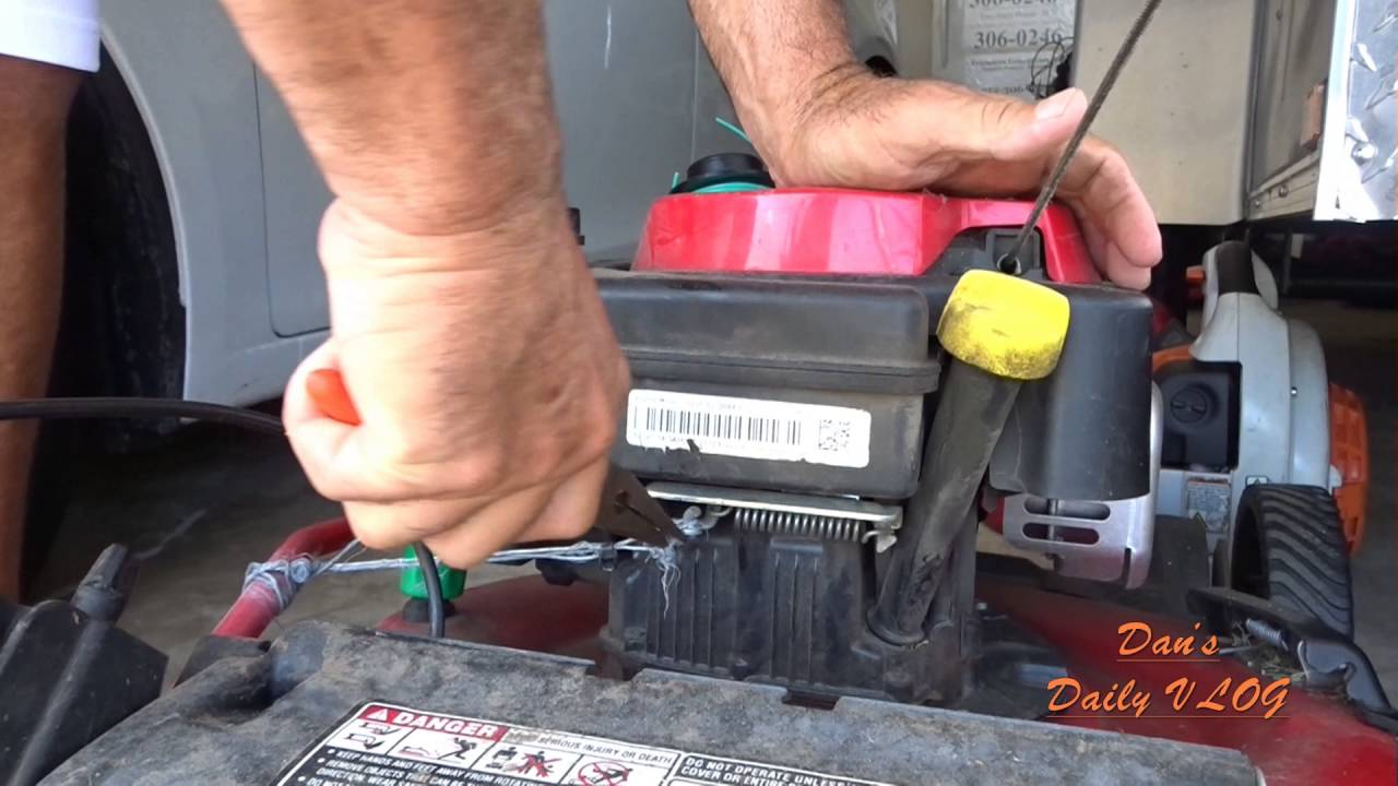 Vlog July 19 How To Replace Control Cable For Troy Bilt Tb 360 Pn Garden Way Riding Mower Wiring Diagram 94605107a