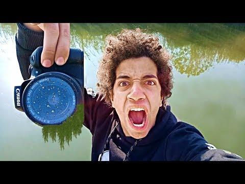 اصحابى رمولى الكاميرا بتاعتى فى المياه مش هتصدقو حصل فيها ايه !