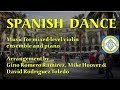 Spanish Dance, arr. for 3 violins & piano - IMTEX Conference 2018