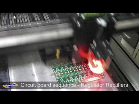 Circuit board sequence - Regulator Rectifiers