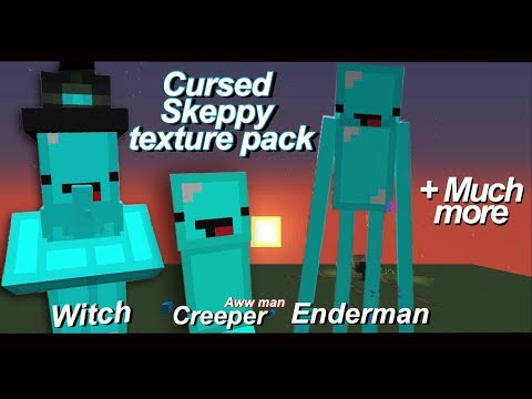 So I Created A Cursed Skeppy Texture Pack