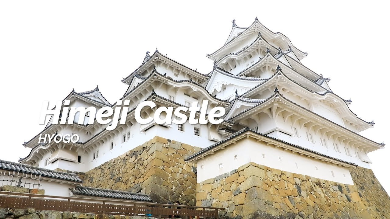 Himeji castle: a national treasure.