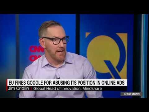 EU Hits Google With $1.7 Billion Antitrust Fine