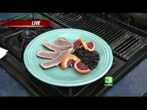 Chef Creates Heart-Healthy Tuna Dish