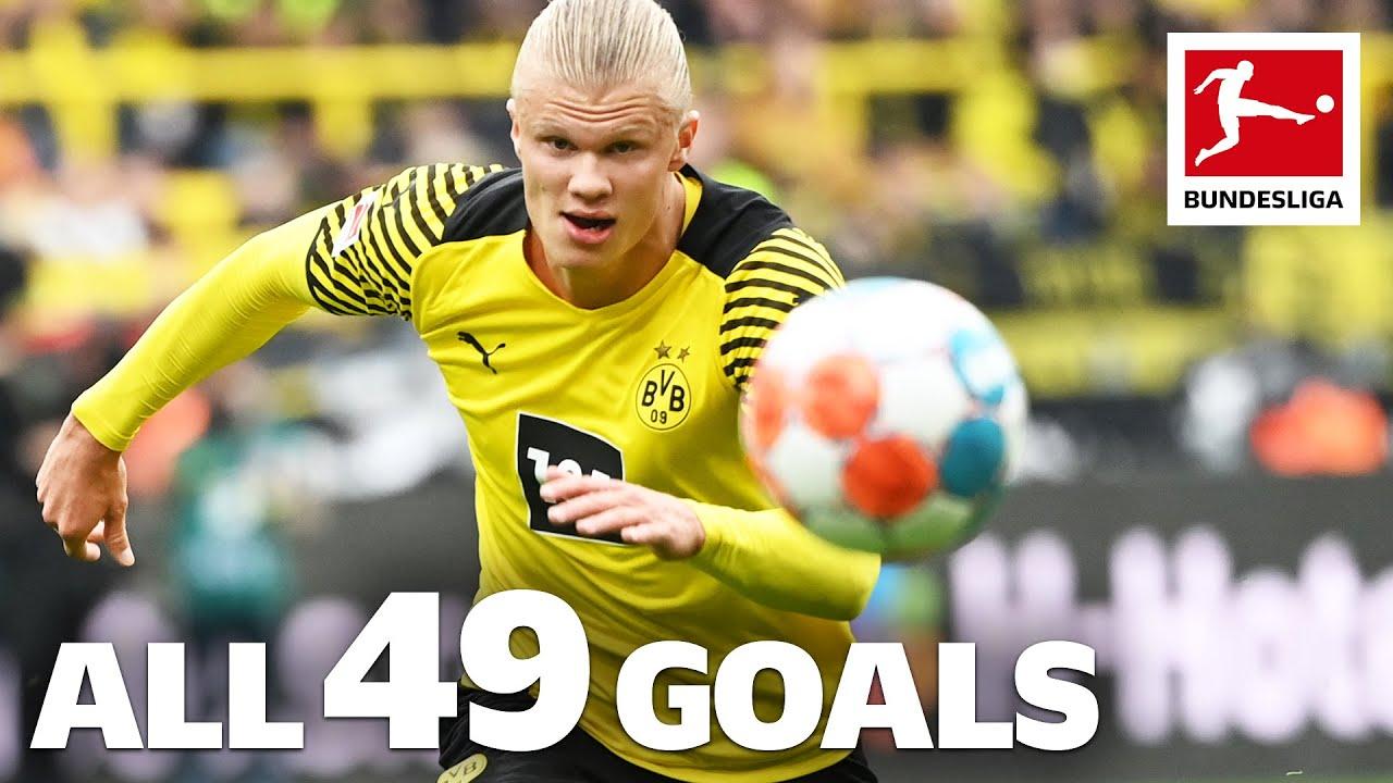 Download Erling Haaland - 49 Goals in Only 49 Games