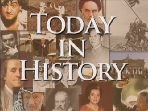 Thumbnail: Today in History for July 24th