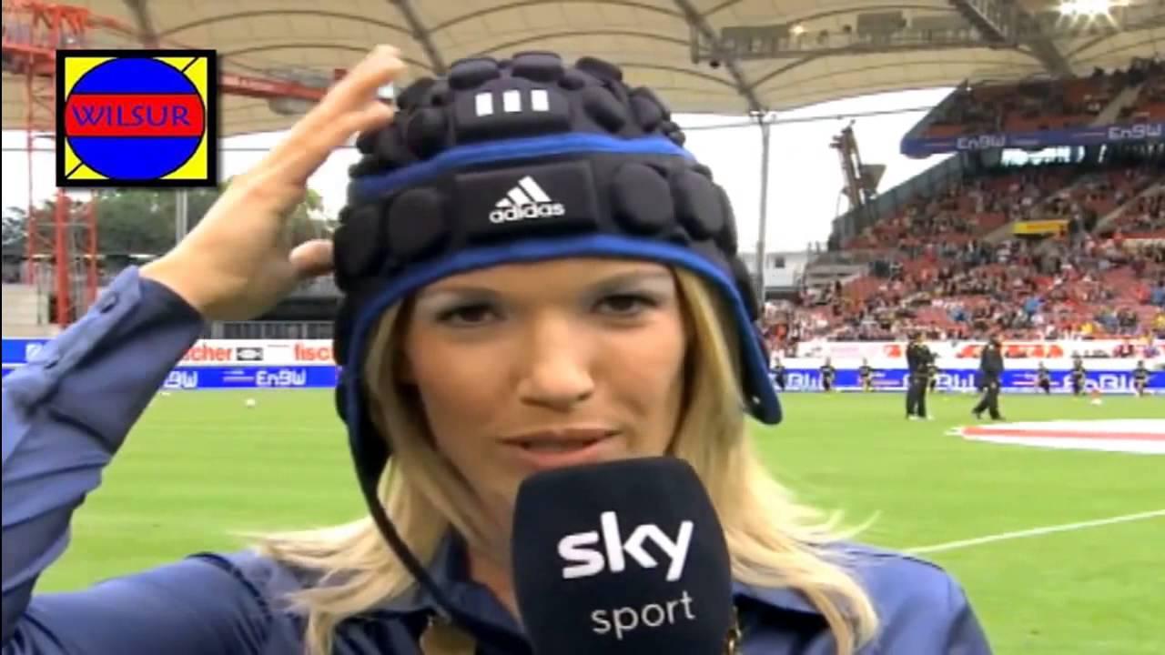 Jessica Kastrop Kopfball Live Tv Die Ganze Geschichte Leverkusen Hoffenheim Youtube