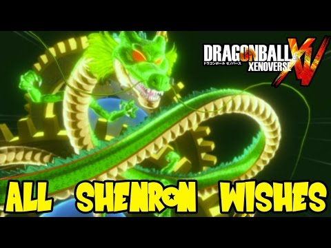 7 dragon balls xenoverse wishes