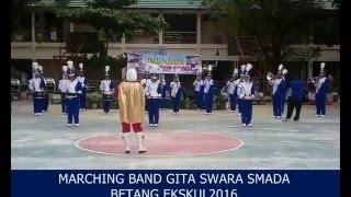 Video [2016] Marching Band SMA Negeri 2 Palangka Raya - SAMBALADO download MP3, 3GP, MP4, WEBM, AVI, FLV Agustus 2017