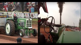 Onboard Oliver Pro farm pulling tractor