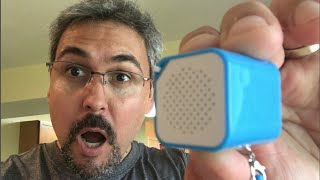Parlante portátil mas pequeño del mundo UNBOXING