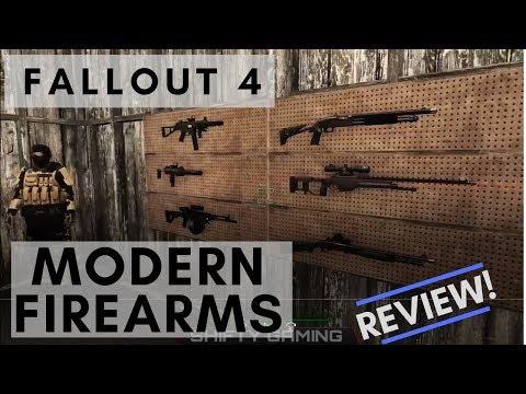 fallout 4 modern firearms mod