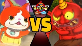 BOTTOM OF BARREL BLASTERS vs ALL ONI in Yo-kai Watch Blasters (Theme Team)