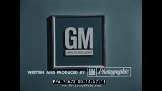 1970s GENERAL MOTORS RAILROAD LOGISTICS / SUPPLY CHAIN MANAGEMENT 74672