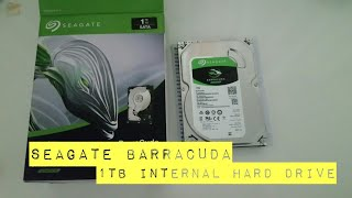 Unboxing - Seagate Barracuda 1TB internal hard drive from Bestbuy