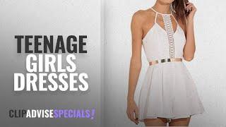 Top 10 Teenage Girls Dresses [2018]: Summer Jumpsuits Petticoat, Hot Clearance Sale Manadlian Women