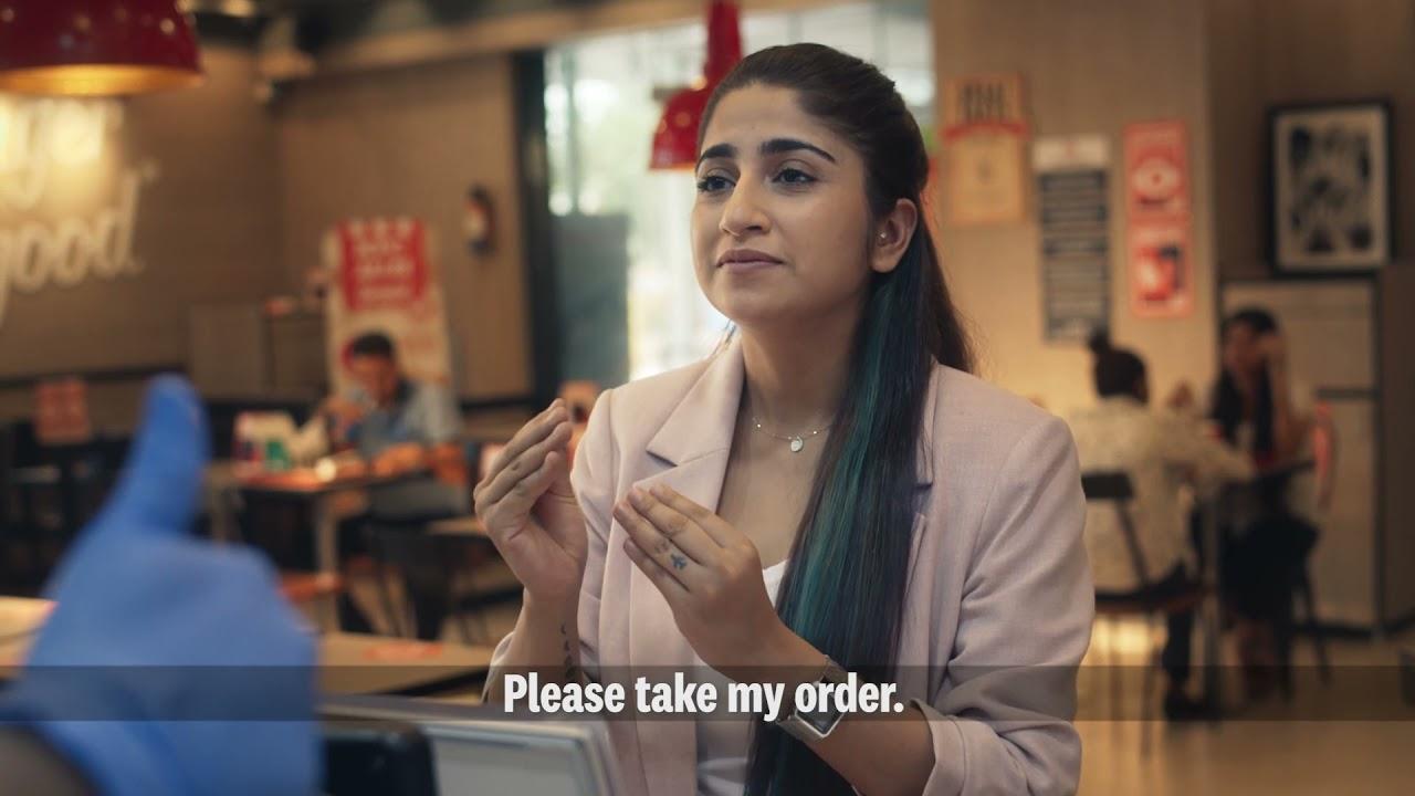 KFC - International Day Of Sign Languages