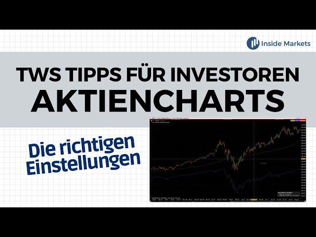 Mit Aktiencharts in der TWS arbeiten