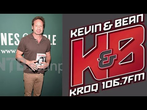David Duchovny on Kevin and Bean (podcast)