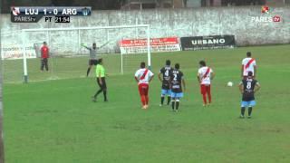 Luján vs Argentino (M) por PAREStv - Fecha 31 (2015)