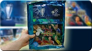 Adrenalyn XL MEGA STARTER PACK Champions League 2014 2015 Unboxing
