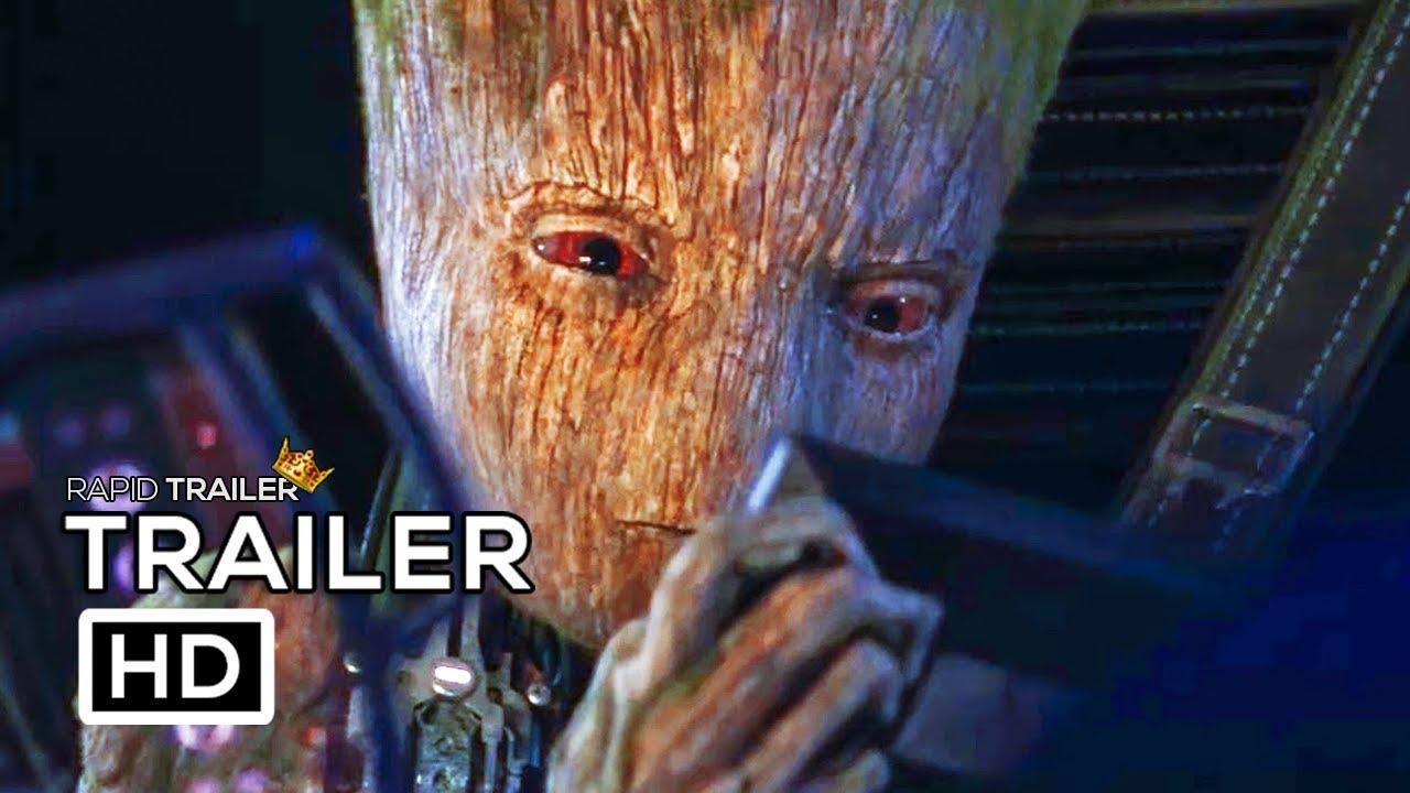 Download AVENGERS: INFINITY WAR Teen Groot Vs Starlord Trailer NEW (2018) Marvel Superhero Movie HD