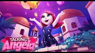 МОЯ ГОВОРЯЩАЯ АНДЖЕЛА Новое Обновление Звездное платье Анжела звезда Танцпола My talking Angela