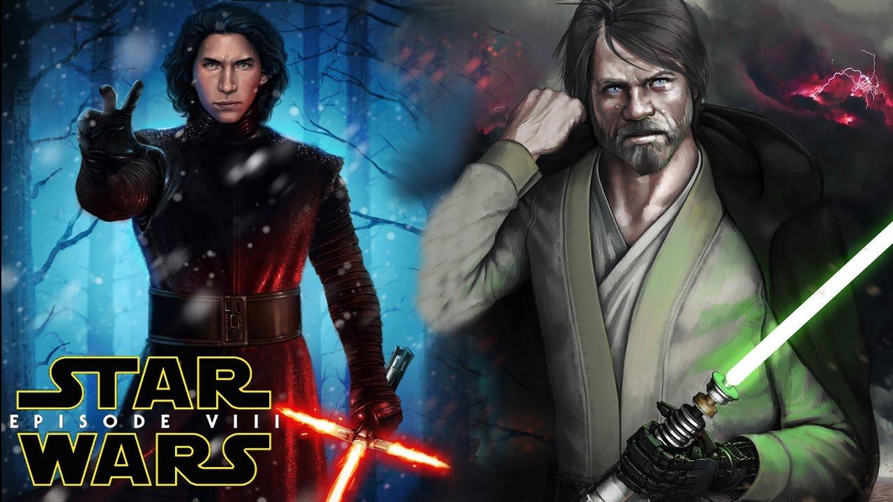 Star Wars Episode 8 The Last Jedi Plot Leak! Luke Skywalker & Kylo ...