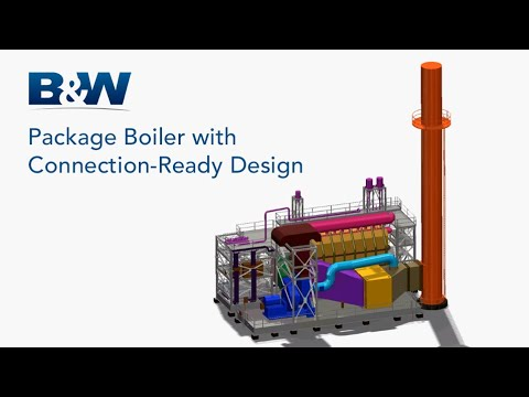 Package Boiler With Connection-Ready Design | Babcock & Wilcox