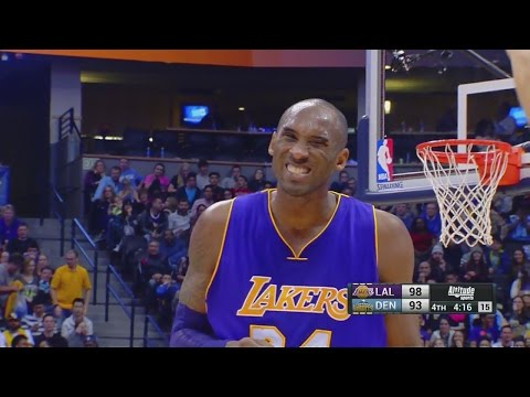 Kobe Bryant 31 Points, 5 Assists at Denver Nuggets - Full Highlights 22/12/2015