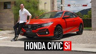 Honda Civic Si 🔥 Un verdadero deportivo 🔥 Prueba - Reseña