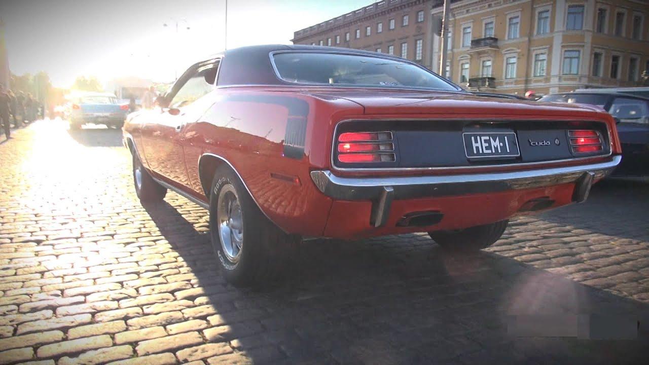 V8 SYMPHONY!! Helsinki Cruising Night 9/2013 - muscle cars, loud ...
