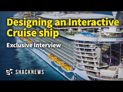 The Challenges of Designing an Interactive Cruise ship