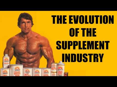 THE EVOLUTION AND HISTORY OF THE SUPPLEMENT INDUSTRY!!