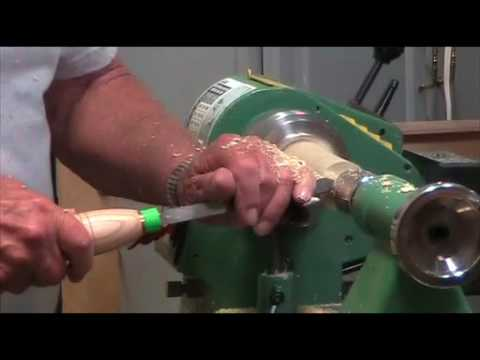 Turning coffee scoops by Jim Tate - Part 1