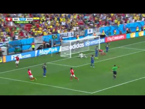 Switzerland 2:1 Ecuador Haris Seferovic's goal