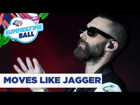 Maroon 5 – 'Moves Like Jagger' | Live At Capital's Summertime Ball 2019