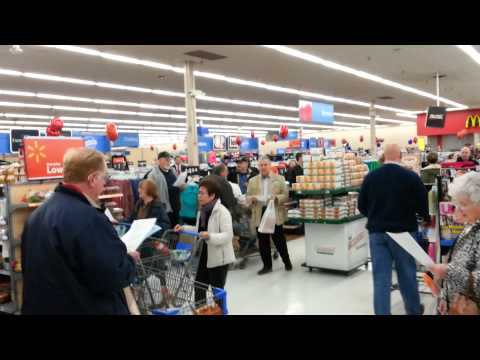 Day of Resistance Flash Mob Westminster MD Wal-Mart