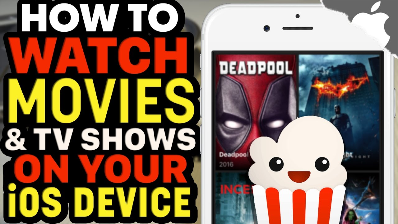 How To Get POPCORN TIME on your iOS Device! (NO JAILBREAK) (NO COMPUTER)  iPhone iPad iPod Touch