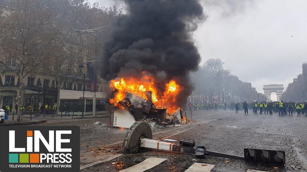 foto de Gilets jaunes Acte 2 La colère populaire explose à Paris