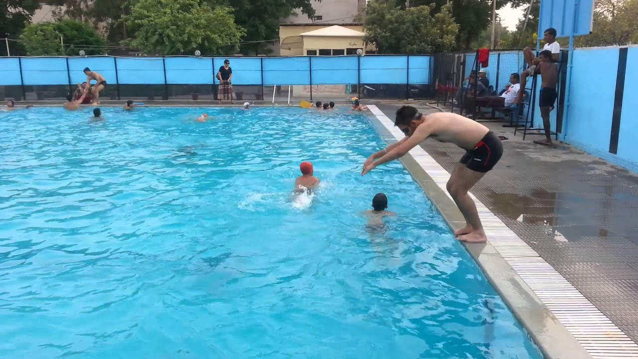a great dive in swimming pool in chandigarh youtube