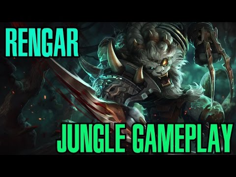 Rengar Jungle Gameplay Season 6   League of Legends