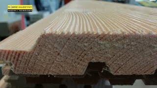 Strukturyzacja desek - maszyny do ekspozycji struktury drewna