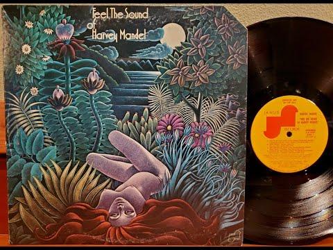 HARVEY MANDEL 3 TRACKS OF FEEL THE SOUND .LP 1974