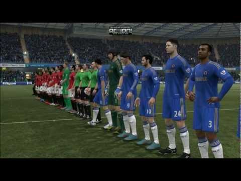Fifa 13 Demo, First Gameplay Chelsea vs. Manchester United