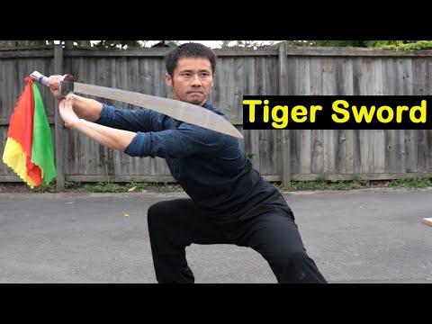 Kung Fu Tiger-Sword Training Tutorial