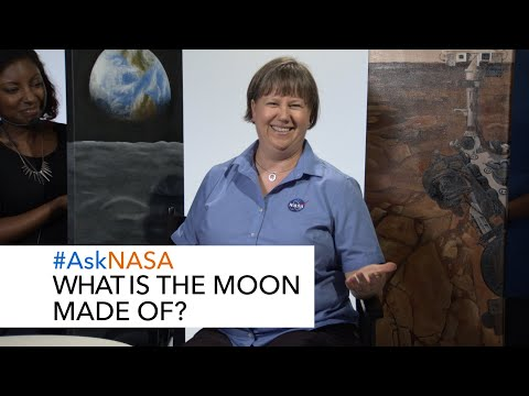 #AskNASA What is the Moon Made of?