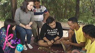 Kris TV: Marlo tries weaving